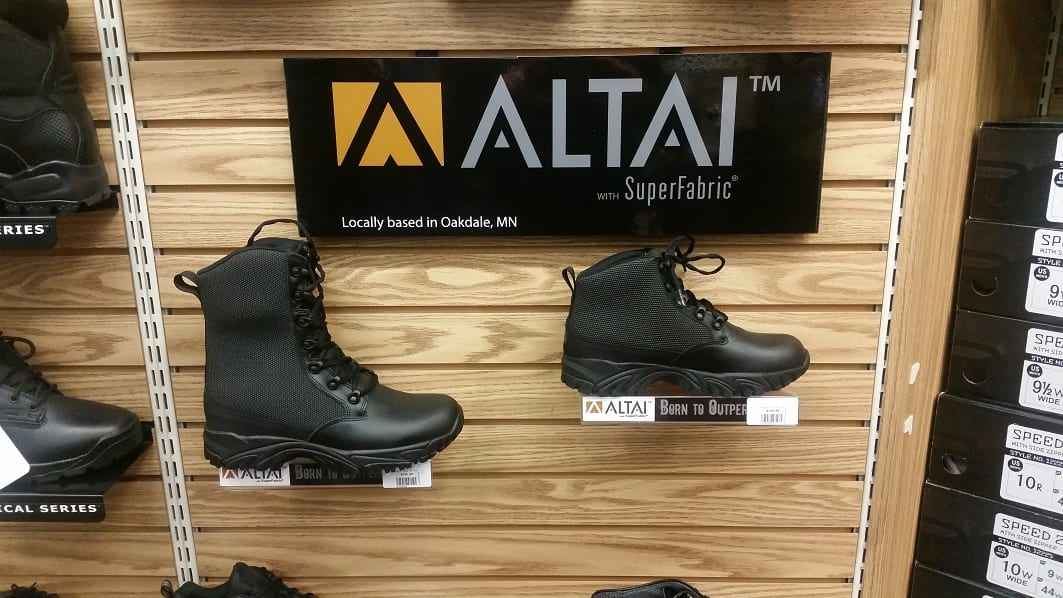 ALTAI™ Boots at Uniforms Unlimited Retailer