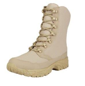 ALTAI 8″ Waterproof Tan Zip Up Boots (MFM100-Z)