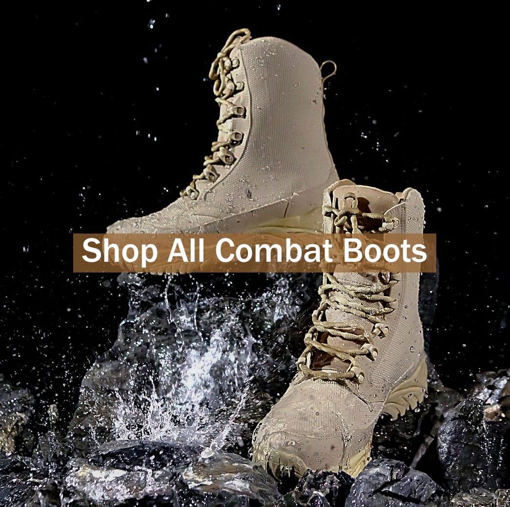 Shop All ALTAI Waterproof Combat Boots