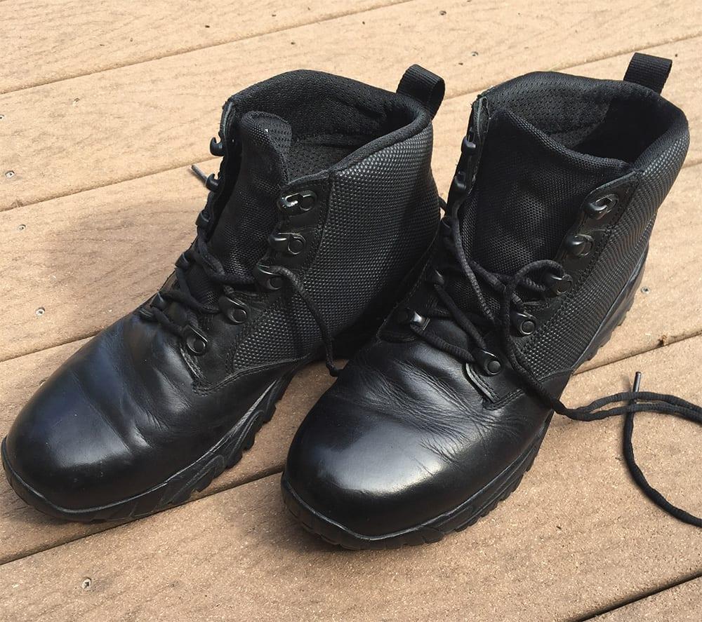 Waterproof Black Boots