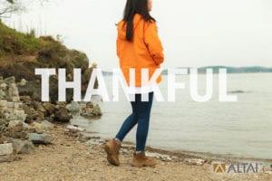 ALTAI™ Thanks You! Happy Thanksgiving