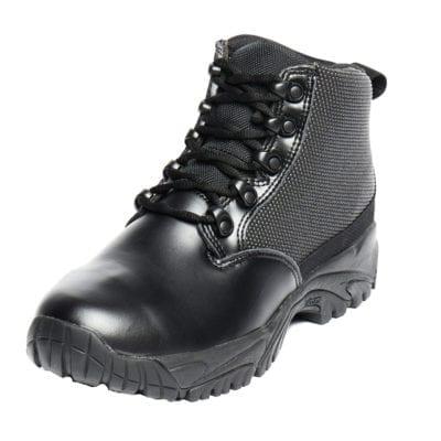 polishable leather work boots
