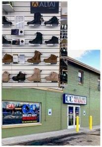 CC Military Surplus store