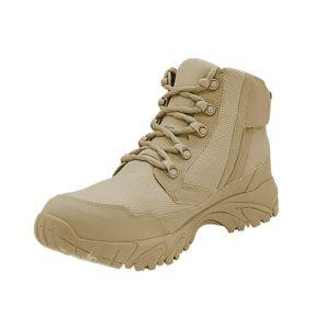 ALTAI 6″ Tan Waterproof Zip Up Work Boots Model: MFM100-ZS