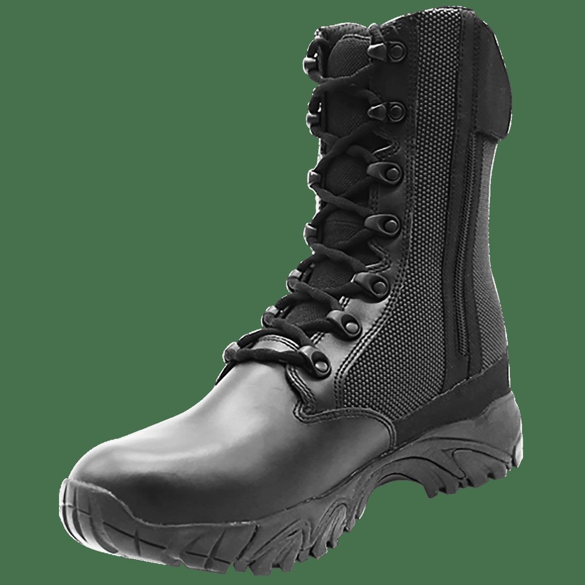 8 Quot Side Zip Waterproof Combat Boots Altai Footwear
