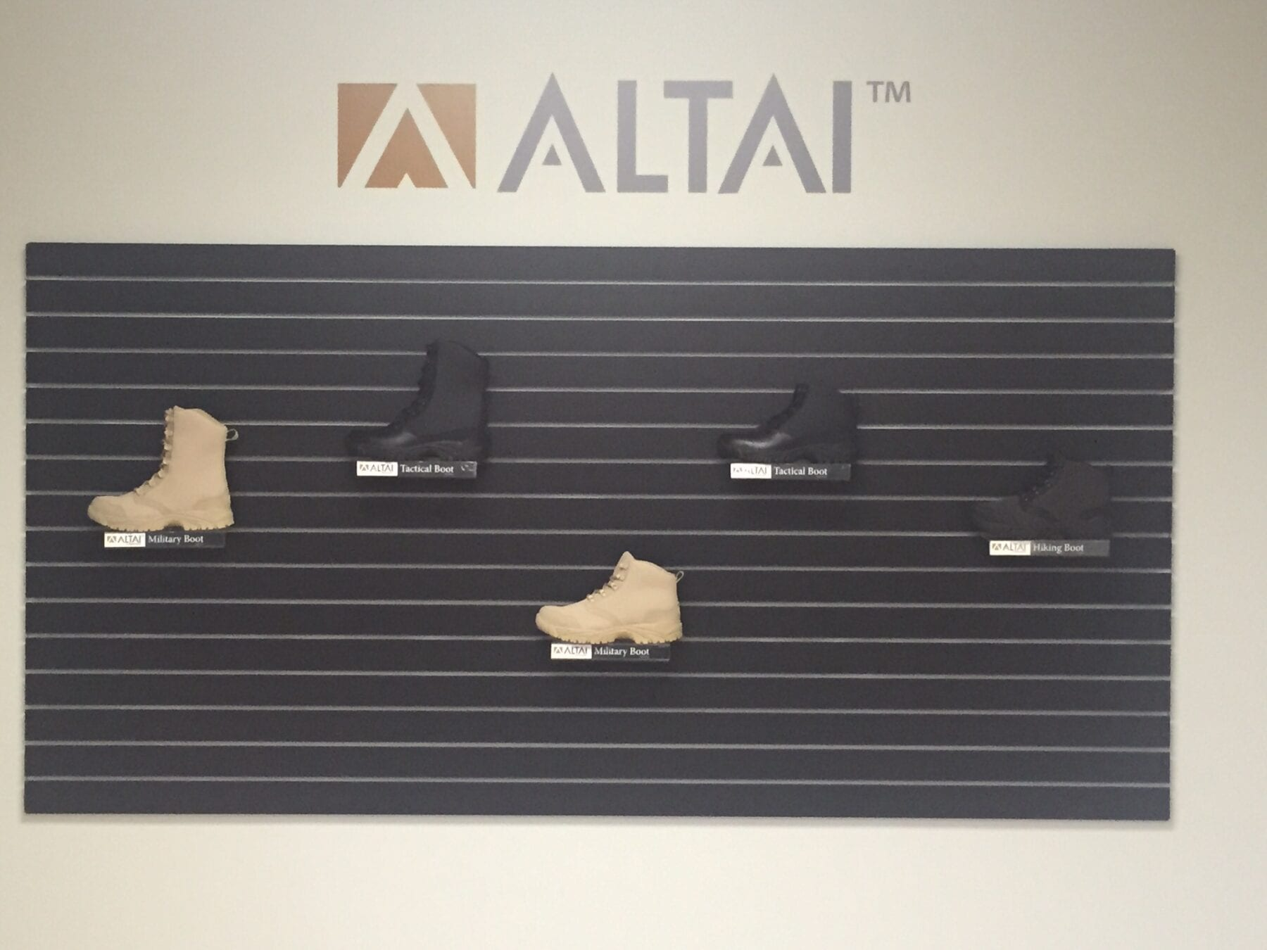 ALTAI™ Tactical Footwear