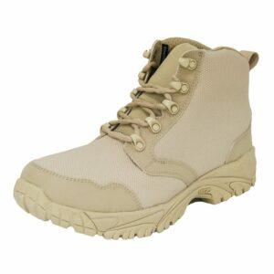 Tan Military Boot Low Top