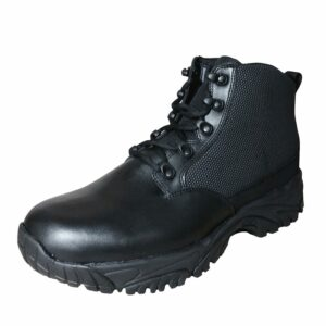 Black Boot Low Top